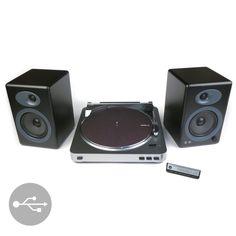 Audio-Technica: AT-LP60-USB Turntable + Audioengine A5+ Speaker Packag – TurntableLab.com