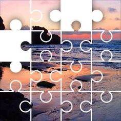 Sunset Jigsaw Puzzle, 20 Piece Classic.