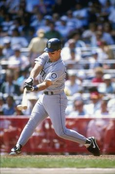 Tino Martinez of the Seattle Mariners at bat during their 4-2 win over the Milwaukee Brewers  ... LOVED Tino until he became one with the enemy! Yes, I am referring to the YANKEES