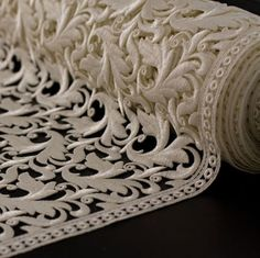 St.Gallen Lace by Akris.. a lost world of art