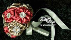 Fabric hand bouquet ~ simple n nice ♥♥♥