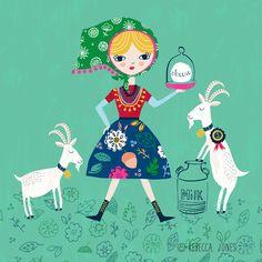 Goat-Farmer by Rebecca Jones