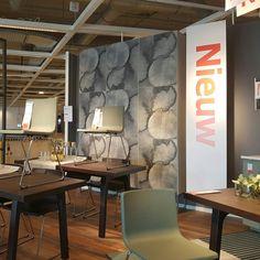 KALVIA fronten van IKEA: supergave servieskast met rvs onderstel