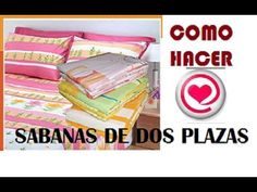 Cómo hacer sábanas de dos plazas | Patrones gratis
