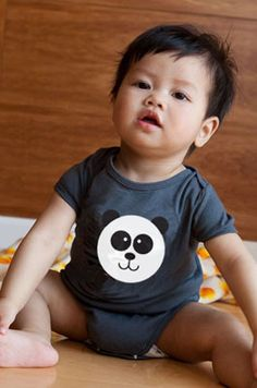 Colette Kids Ling Ling Panda Onesie