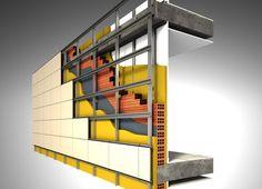Sistema de aislamiento térmico por fachada ventilada.
