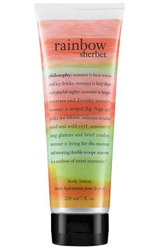 Philosophy Rainbow Sherbert body lotion