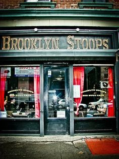 Brooklyn Stoops in Bedford Stuyvesant (748 Myrtle Ave, Brooklyn, NY)