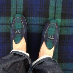 Too much tartan? It's tempting! Irish Tartan, Scottish Plaid, Scottish Tartans, Tartan Plaid, Tartan Shoes, Preppy Men, Preppy Style, My Style, Harris Tweed