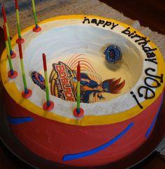 Beyblade Arena Cake  isa