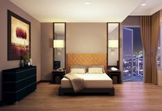 Balance of live, work and play. The West Tower at One Serendra.