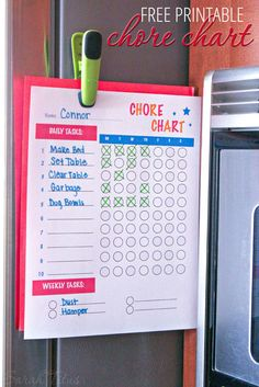 Finding a chore chart is one thing, but getting your kids to actually DO the chores is a completely different ballgame. Here are the 3 secrets to creating a chore chart that' Best of all, it comes with a free printable chore chart! Free Printable Chore Charts, Chore Chart Kids, Kids Chore List, Weekly Chore Charts, Family Chore Charts, Kids And Parenting, Parenting Hacks, Chore Board, Charts For Kids