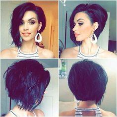 Vous êtes tous de ce style de cheveux courts, que vous allez essayer? Merci ci-dessous! Nous avons une sélection des plus belles coiffures courtes pour cet été!