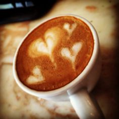 ❤️☕️❤️#heart#coffe#love
