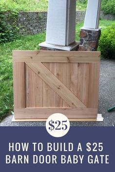 Keeping the little ones safe is important, and this DIY barn door baby gate is the perfect way to ensure security and style. MetroCozy.com