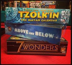 Here are some of our favorites. Highly recommended games from @czech_games_edition @redravengames @reposproduction  #fun #thebest #boardgame #tabletopgames #gaming #shallweplaylv #instock #friendlylocalgamestore