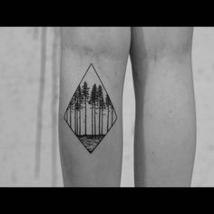 """on Instagram: """"#myfirstwannado #zurstecherei #tattoo #ink #blacktattooart #timber #forest #panorama #geometric #linework #blackworkers #blxckink…"""".  Figure out even more by clicking the photo"""