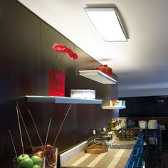 The 'Alpen' ceiling light by Leds C4 gives great general lighting - no matter what application! Kitchen, Bathroom, Bedroom or Living, you name it, it will light it! « Lighthouse Nelson www.nelsonlighting.co.nz