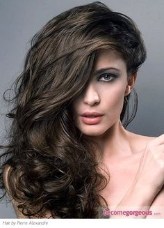 Pictures : Brown Hair Color Shades - Medium Ash Brown Hair Color