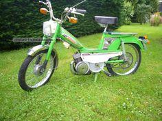 MBK  mobylette mbk motobecane 1975 Vintage, Classic and Old Bikes photo