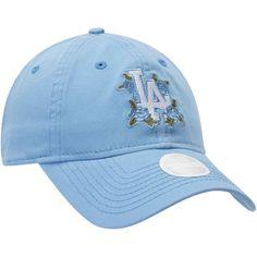 fb231d66d Women s New Era Blue Los Angeles Dodgers Bloom 9TWENTY Adjustable Hat Los  Angeles Dodgers