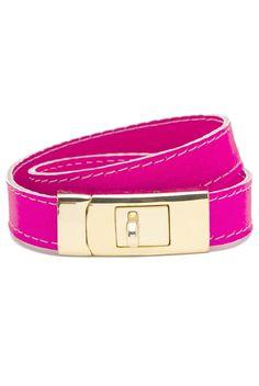 Portico Bracelet Neon Pink