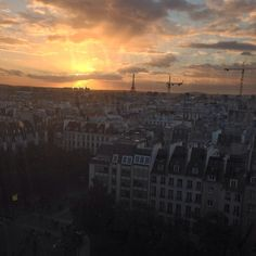 #CoucherduSoleil #sunset #paris