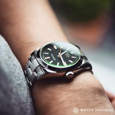 Pioneering - The famously anti-magnetic green-sapphired #Rolex #Milgauss 116400GV - Available from tomorrow at http://ift.tt/1qIwSwQ