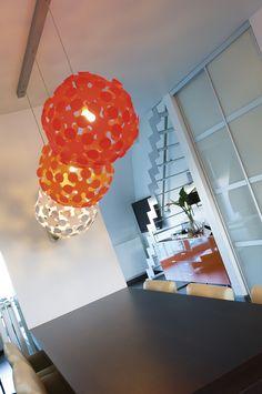 projekt te Ninove Teak, Lighting, Home Decor, Light Fixtures, Lights, Interior Design, Home Interior Design, Lightning, Home Decoration