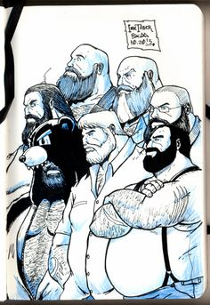 Werebears #inktober #inktobear #werebear #werebears #inktoberbrasil #inktoberbrazil #inktober2015