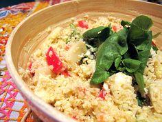 couscous de couve-flor | Francinha Cooks