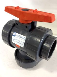 Hayward TW1300SE 3-Inch PVC TW Series 3-Way True Union Ball Valve with EPDM Seal #Hayward
