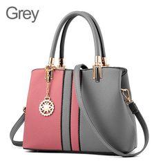 Designer Leather Crossbody Handbag With Tassel By ZMQN Leather Hobo Handbags 458e7add7b38d