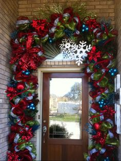 porch christmas lights christmas holidays christmas front doors christmas door decorations christmas - Beautiful Christmas Door Decorations