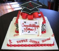 Graduation Cake....Mary's Cakes and Pastries in Northport, AL