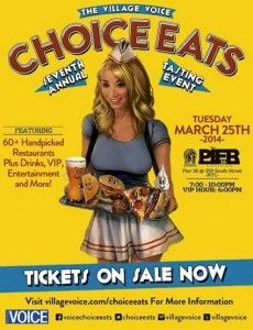 Choice Eats is taking place March 25, click here for tickets!