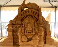 Bucket list item: The Sand Sculpting Championships in Gold Coast, Queensland, Australia! See more: http://www.gypsynester.com/sand-sculpting.htm #travel #photography #australia