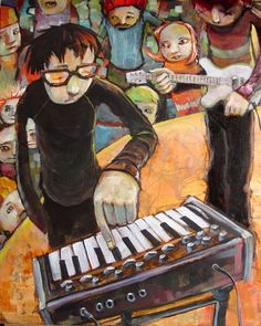 """This resembles my life in music. :) """"My Fabulous MicroMoog"""" by `jasinski on #deviantART"""