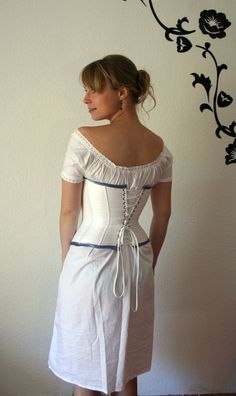 DIY chemise and corset pattern