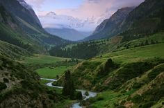 Be astounded by vast landscapes in little unknown #Kyrgyzstan!! #travel