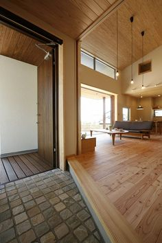 Home Interior Design, Interior Architecture, Interior And Exterior, Style At Home, Japanese Interior, House Entrance, Japanese House, Minimalist Home, House Rooms