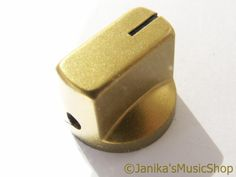 GOLD STOVE TYPE POTENTIOMETER OR ROTARY SWITCH KNOB
