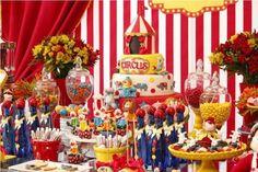 O circo chegou! Veja como fazer uma festa infantil com o tema