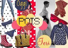 """Dedichiamo un piccolo """"flash"""" al Polka Dot: un pattern """"evergreen"""" che nasce dalla Polka, approda su abiti e foulards negli anni 30 e che tutt'ora è utilizzato per rallegrare tessuti, accessori, arredamento e oggetti di uso quotidiano! Tra le nostre … [+]"""