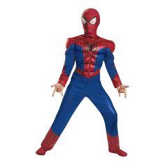 Avengers 2 Spiderman Halloween Costume for Kids - Medium