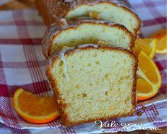 Plumcake di arancia glassato ricetta senza burro e olio, un dolce sofficissimo leggero profumato e goloso, ideale a colazione e merenda