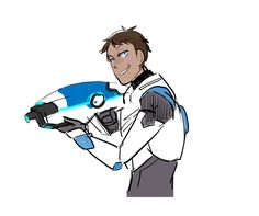 "linipik: ""just imagine… the moment Lance learns how to unlock his bayard :') slightly older Lance with different guns like, Pistols? Long Sniper rifle? pow pow Lance would ACE bc he is a fantastic..."