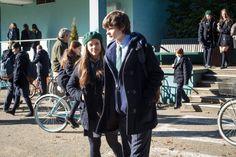 Charlie Tahan and Sarah Jeffery in Wayward Pines Sarah Jeffery, Up For The Challenge, Season 1, Pine, Thursday, Fox, Character, Pine Tree, Foxes