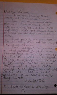May my child grow up to write letters just like this! http://media-cache1.pinterest.com/upload/26317979042502786_3hmE2OkC_f.jpg uthministerman funny stuff