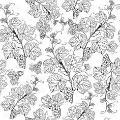 Find Vintage Seamless Pattern Grape Branch stock images in HD and millions of other royalty-free stock photos, illustrations and vectors in the Shutterstock collection. Free Vector Clipart, Vector Graphics, Vector Art, Garden Illustration, Illustration Vector, Seamless Background, Textured Background, Grape Wallpaper, Grape Drawing